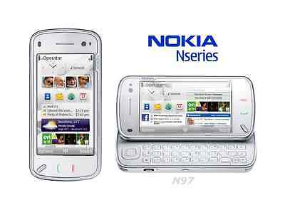 ☆ NOKIA N97 Weiß ☆ Handy Dummy Attrappe ☆ Not real mobile phone! ☆