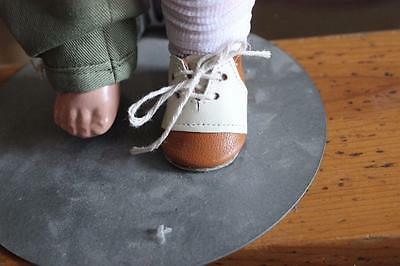 Leather Oxford shoes for Effanbee Skippy Doll Patsy family Doll Composition Doll