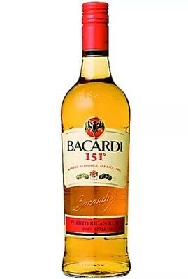 Bacardi 151 Rare And Discontinued