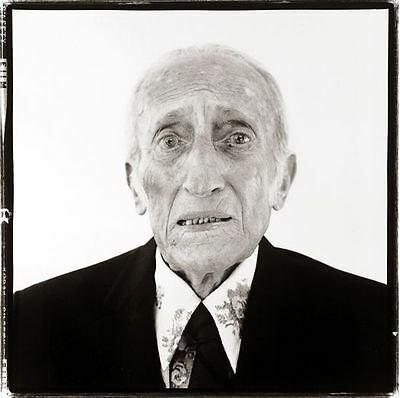 Richard Avedon, His Father, Pressprint, 1973, Museum Ludwig, Galeriepreis 600,-
