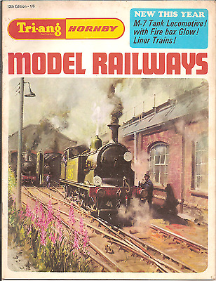 TRI-ANG HORNBY MODEL RAILWAYS CATALOGUE 13th EDITION 1967