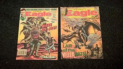 2 EAGLE COMICS (23rd Sept 1989/16th July 1988 No330) GOOD CONDITION,COLLECTABLE.