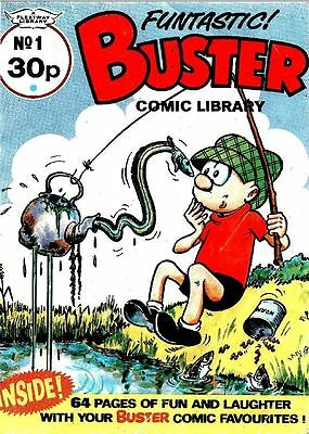 Uk Comics Buster & Whizzer And Chips Comic Library Digital Collection
