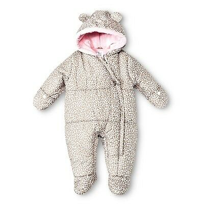 Just One You Made by Carter's® Hooded Snowsuit - Cheetah