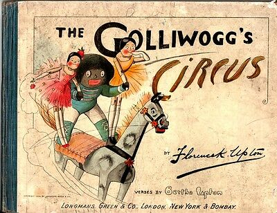 Florence Upton THE GOLLIWOGG'S CIRCUS 1st edn. 1903