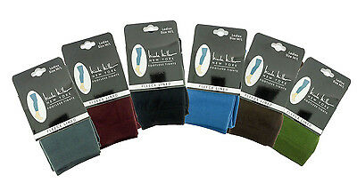 Nicole Miller Footless Tights Plush Fleece Lined Extra Warm Assorted Colors Size