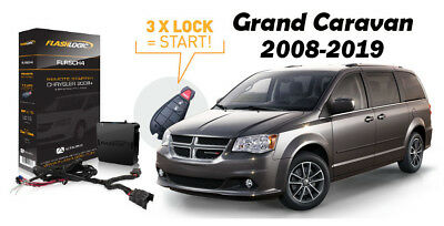Flashlogic Add-On Remote Starter for Dodge Grand Caravan 2008-2019 Plug & Play