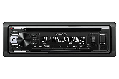 KENWOOD KDC-BT21 CAR STEREO CD MP3 USB AUX EQ BLUETOOTH IPOD PANDORA iPHONE NEW