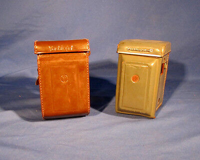 LOT of Yashica Twin Lens Camera Leather Cases . #L142EW