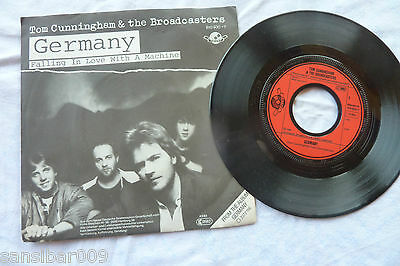 Single - Tom Cunningham & the Broadcasters - GERMANY / Single 1983 TOP ERHALTEN
