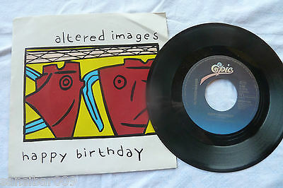 Single - altered images - happy birthday / SO WE GO WHISPERING - TOP erhalten