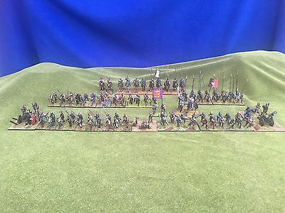 28 mm Wargame War Of The Roses Large Army