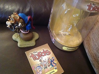 The Turds Figurines - Richard the Turd With Box and Log Book