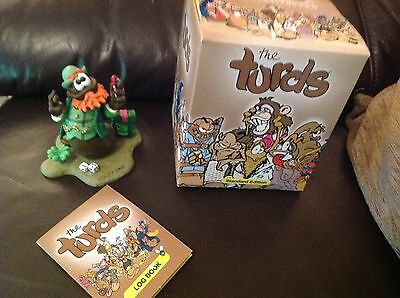 The Turds Figurines - Lucky Sh*t With Box and Log Book