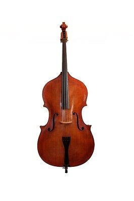 Double Bass 3/4 hand made in England set up for pizzicato/jazz player