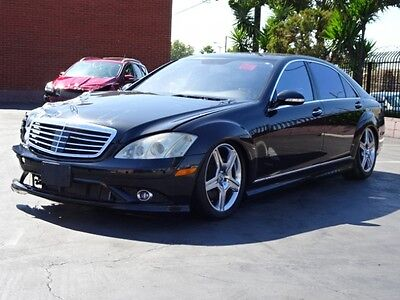 2008 Mercedes-Benz S-Class S550 2008 Mercedes-Benz S550 Sedan Damaged Salvage Loaded Luxurious Spacious Must See