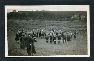 Wick Caithness - Local Scout Troop at Camp RP 1912