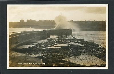 Wick Caithness - Storm Damage to Harbour & Pier RP 1913