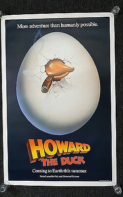 Howard the duck Movie poster us one sheet genuine original