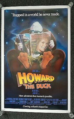 Howard the duck Movie poster us one sheet genuine original #2