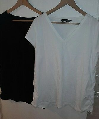 Free post * mothercare blooming marvellous maternity t shirts XL 16-18-20