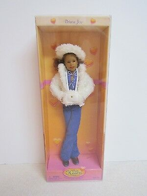 NEW Only Hearts Club Doll Briana Joy in White Fur Jacket Winter Outfit