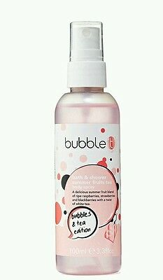 2 x Bubble t bath & body spray - Summer fruits tea 100ml
