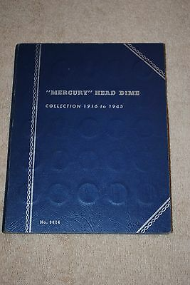 1916-1945 MERCURY  DIME SET ++ 76 SILVER COINS****without 1916D****