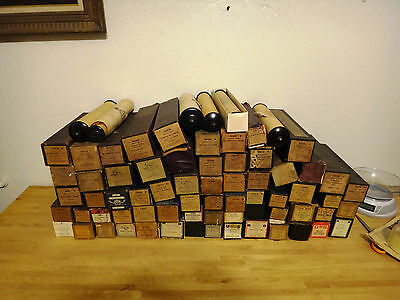 Lot Of 100 Antique Paper Music Rolls Aeolian & Others - Free S&H USA