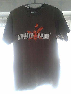 genuine original vintage Linkin Park promotional Hybrid Theory t-shirt rare