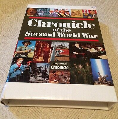 Book: Chronicle Of The Second World War - New!