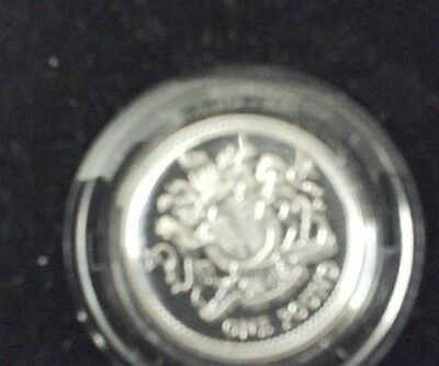 SILVER PROOF £1 ONE POUND coin 1983 rare coin. In very nice condition.