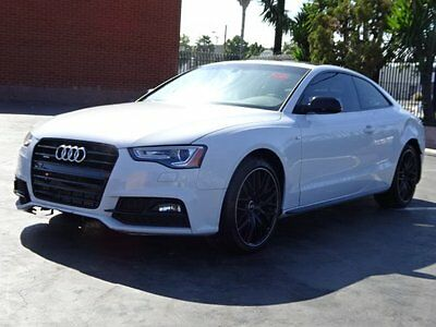 2017 Audi A5 2.0T Premium quattro 2017 Audi A5 Coupe Damaged Salvage Only 2K Mi Loaded Sporty Perfect Color L@@K!!