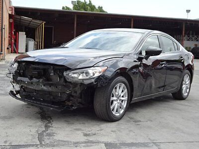 2016 Mazda Mazda6 i Sport 2016 Mazda Mazda6 i Sport Crashed Salvage Economical!! Perfect Project Must See!