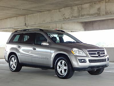 2007 Mercedes-Benz GL-Class FREE SHIPPING NATIONWIDE! MERCEDES GL450 4X4 GL450 4.7L 4MATIC 3RD ROW SEAT 84K MILES ONLY! TEXAS OWNED! MINT CONDITION!