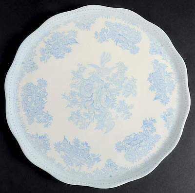Burgess & Leigh ASIATIC PHEASANTS BLUE Cake Plate 2394049