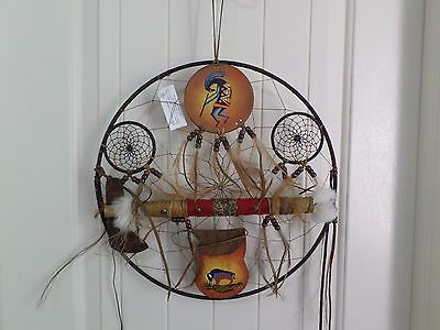 "Dream Catcher 14"" made by Ivan Lewis of New Mexico."