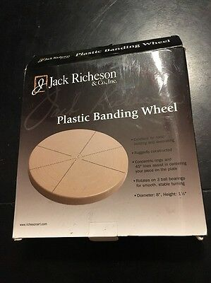 Jack Richeson Plastic Decorating and Banding Wheel