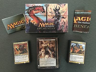 MTG Archenemy Bring About the Undead Apocalypse-Deck Box, Card Sleeves, Complete
