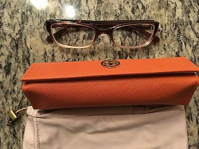 Tori Burch TY 2003 Faded Brown Eye Glasses -Gently Used!