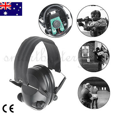 2019 Pro Foldable Shooting Hunting Electronic Earmuffs Input Sport Ear Muffs NEW