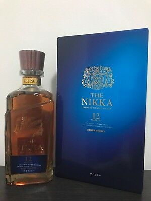 The Nikka 12 Year Old Blended Malt Japanese Whisky 700ml