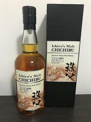Ichiro's Malt Chichibu - The Peated 2016 Single Malt Japanese Whisky 700ml