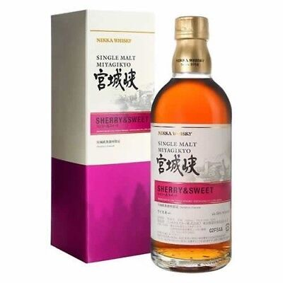 Nikka Miyagikyo - Sherry & Sweet - Distillery Release Japanese Whisky 500ml