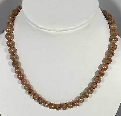 ct 264.Natural Rhodochrosite Beads Necklace Jewellery
