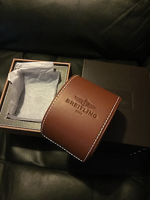 Genuine Official Breitling Presentation Box With Leather Case