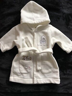 Baby's Cream Hooded Dressing Gown