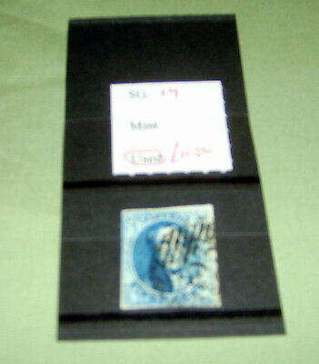 Belgium Stamps,  Sg 14, Fine Used, Stated To Catalogue £11.50.
