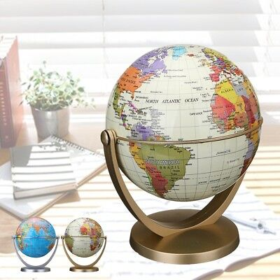 Classic World Globe Antique Desktop Table Decor Geography Educational KIDS Gift