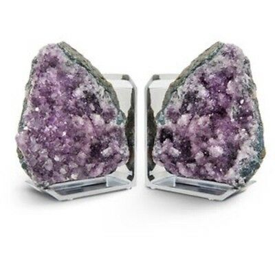 Rablabs Bookend Set - Amethyst - Anna By Rablabs